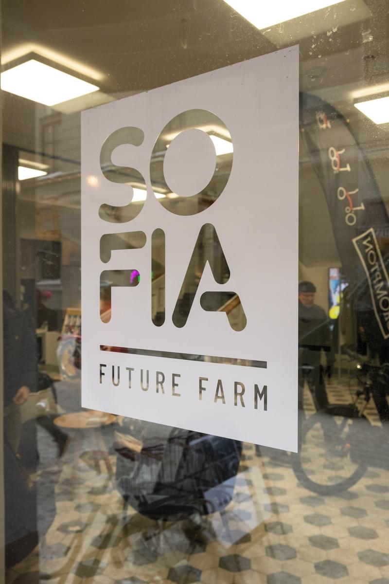 Sofia Future Farm -tapahtumatila sijaitsee Sofinakadulla