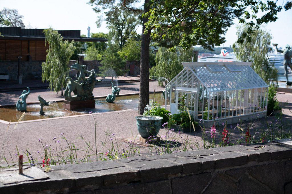 Millesgården museo ja patsaspuisto sijaitsee Lidingössä, Tukholmasta länteen