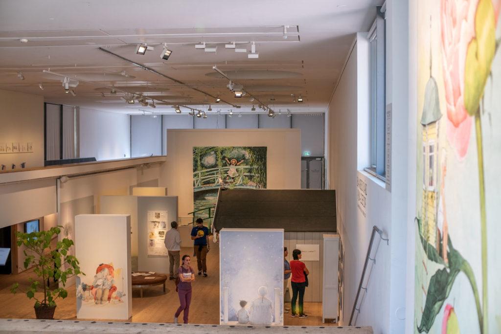 Kuvittaja Lena Andersonin näyttely Millesgården museossa